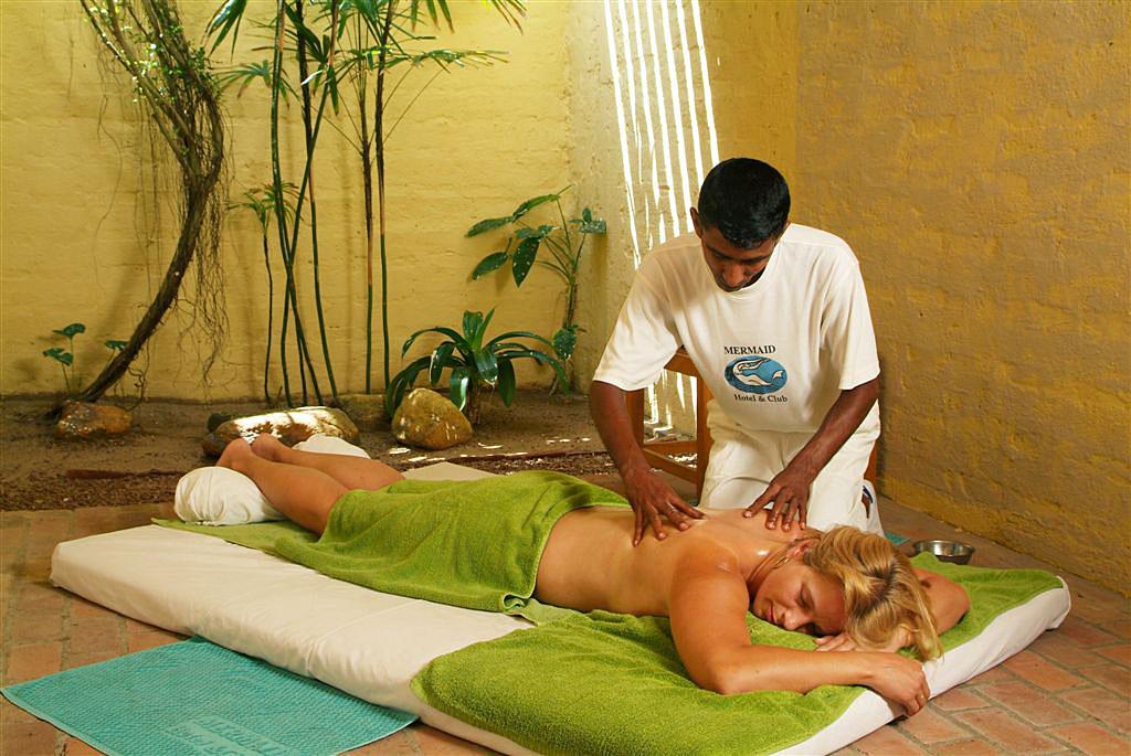 Man massaging his cock photo