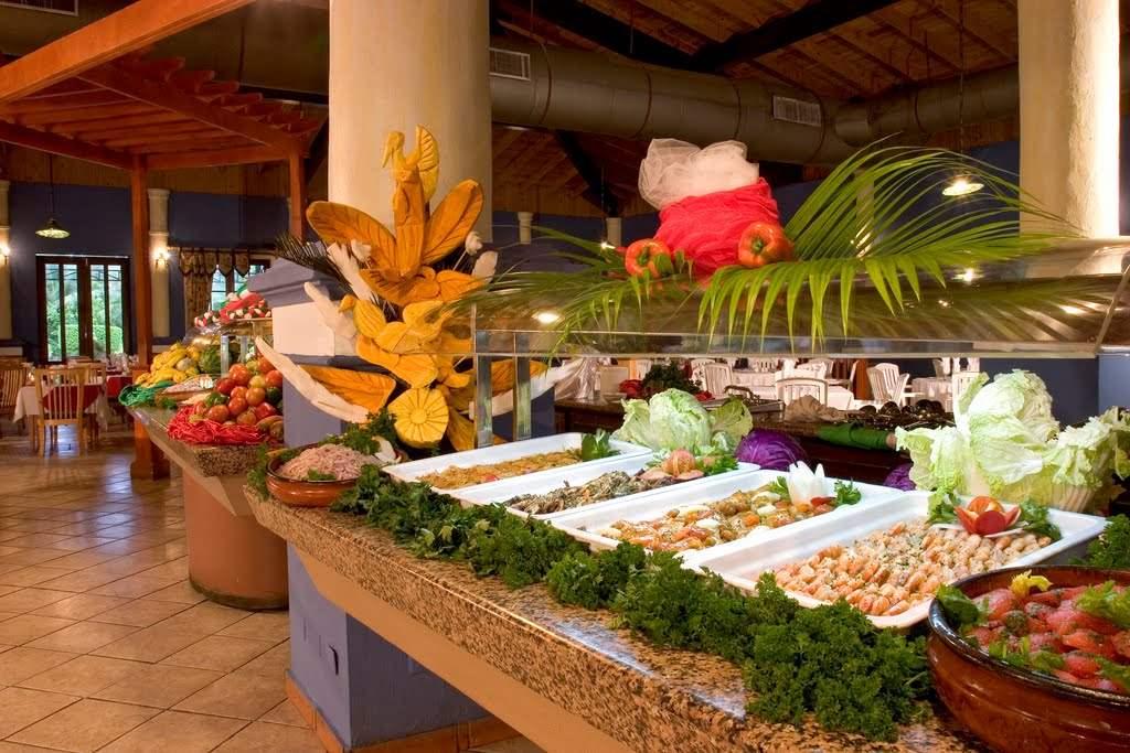 Фото туристов еда в отелях доминиканы